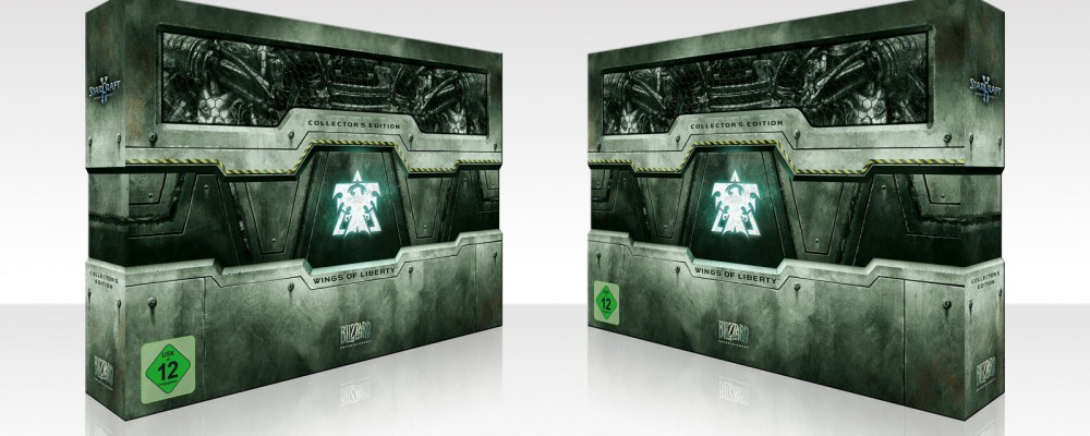 StarCraft II – Collectors Edition Unboxing