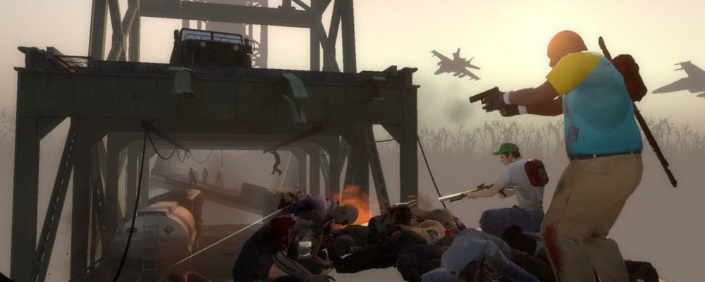 Left 4 Dead 1 & 2 bekommen Downloadfutter