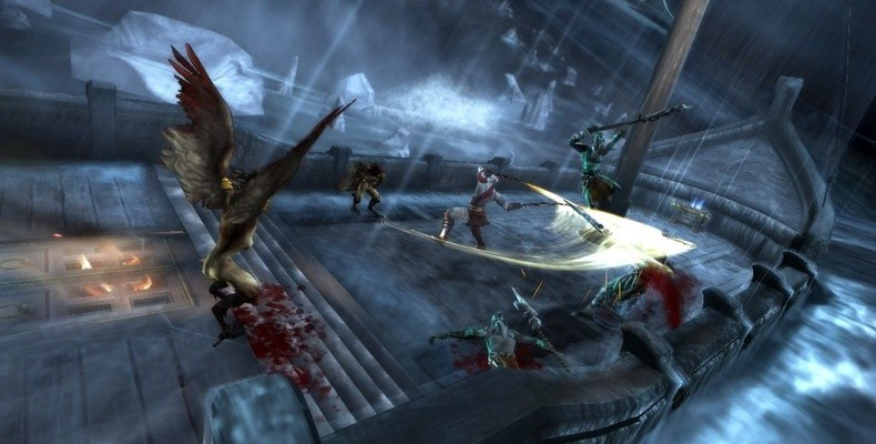 God of War: Ghost of Sparta – Neue, heiße Screenshots zum PSP-Gemetzel