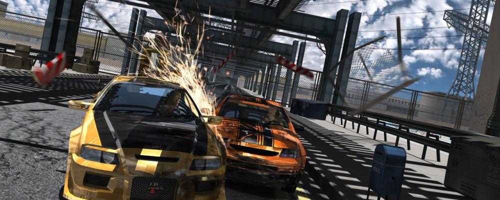 FlatOut für die Wii – Stunt Mode Video