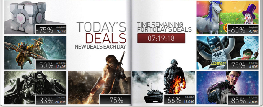 Steam gibt saftige Rabatte auf Valve Complete Pack