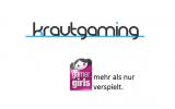 Wir begrüßen die Gamergirls im Krautgaming Netzwerk
