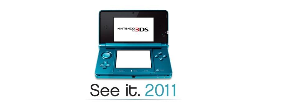 Nintendo 3DS – Englische Homepage geht online