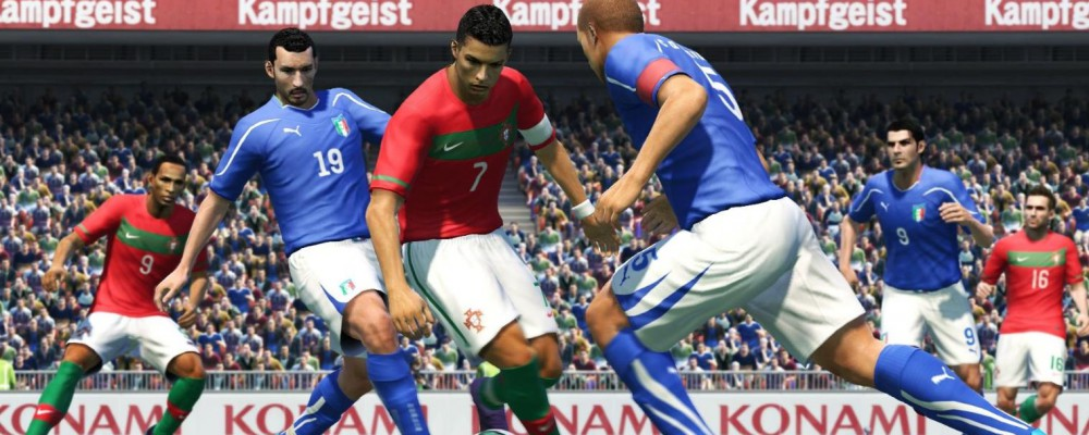 Pro Evolution Soccer 2011 für Windows 7 Mobile