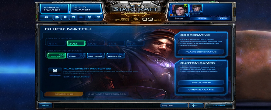 Starcraft 2 – Patch 1.2.1 seit heute Morgen Online