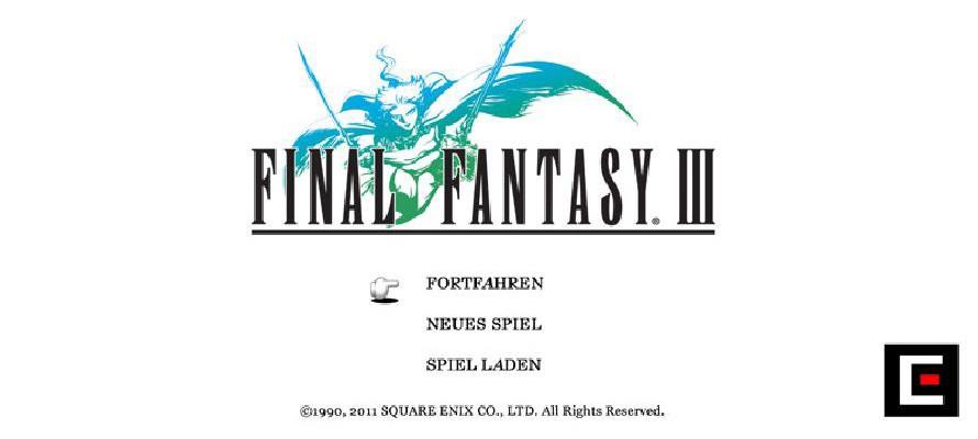 Final Fantasy III erscheint im App Store