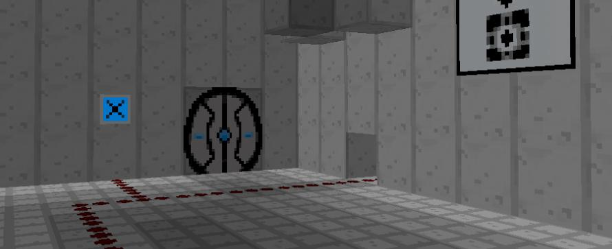 Minecraft goes Portal – Neue Mod für Minecraft