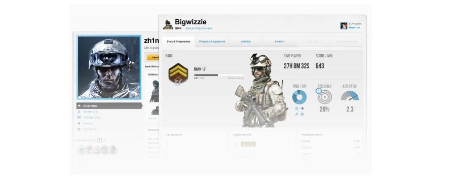 Battlefield 3 – Erste Screenshots des Battlelogs im Internet aufgetaucht