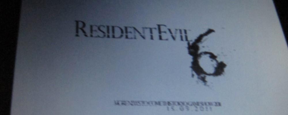 Resident Evil 6 – Erster Screenshot auf der ComicCon aufgetaucht