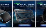 gamescom 2011: Razer präsentiert Razer Hydra, Starcraft II Set und High End Headset