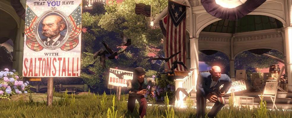 gamescom 2011 – Gameplaypräsentation zu Bioshock Infinite