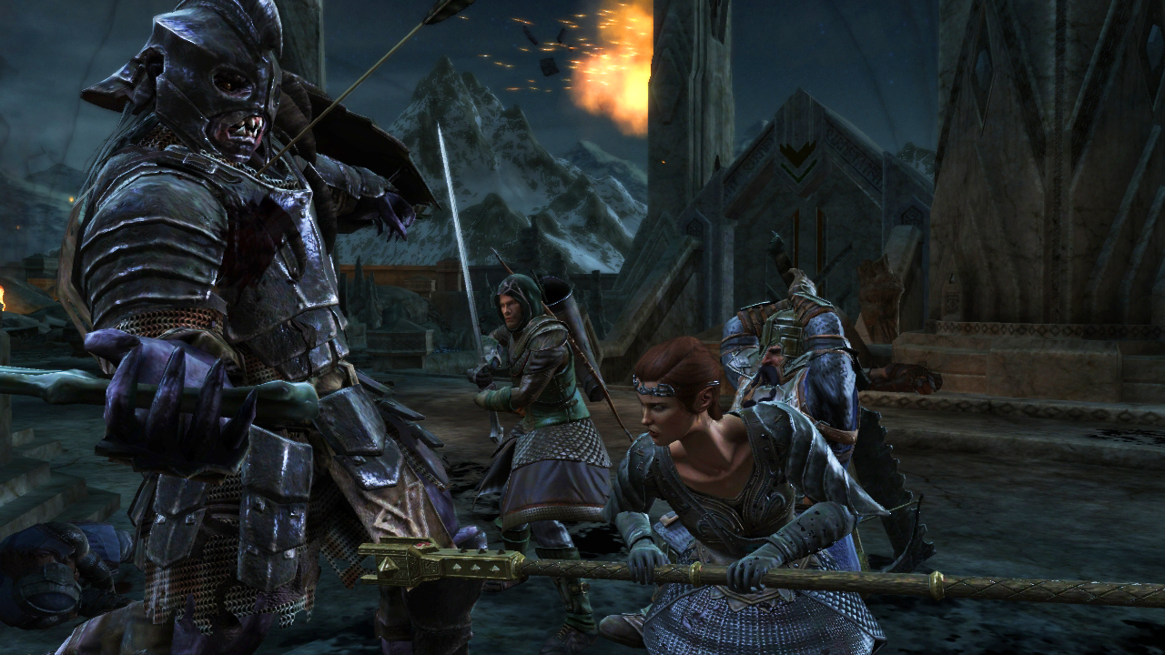 Lord Of The Rings War In The North Andriel Armor