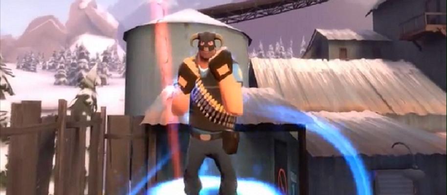 The Elder Scrolls mal anders – Skyrim im Team Fortress 2 Look
