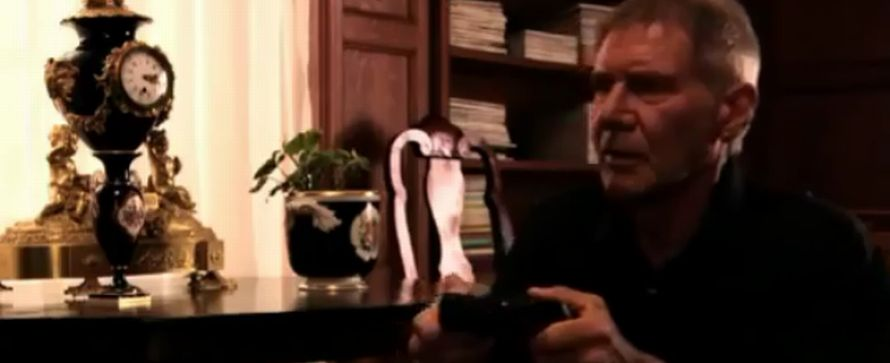 Harrison Ford wirbt für Uncharted 3 – in Japan