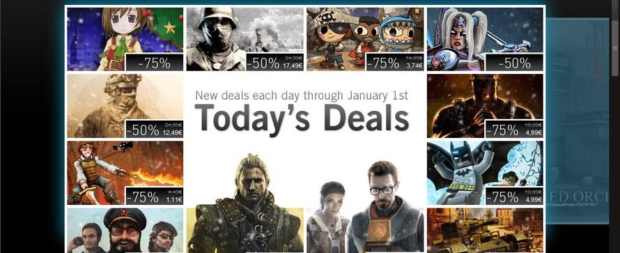 Weihnachts-Sale auf Steam – Heute mit dem Warner-Bundle, der Half Life Box und Modern Warfare 2