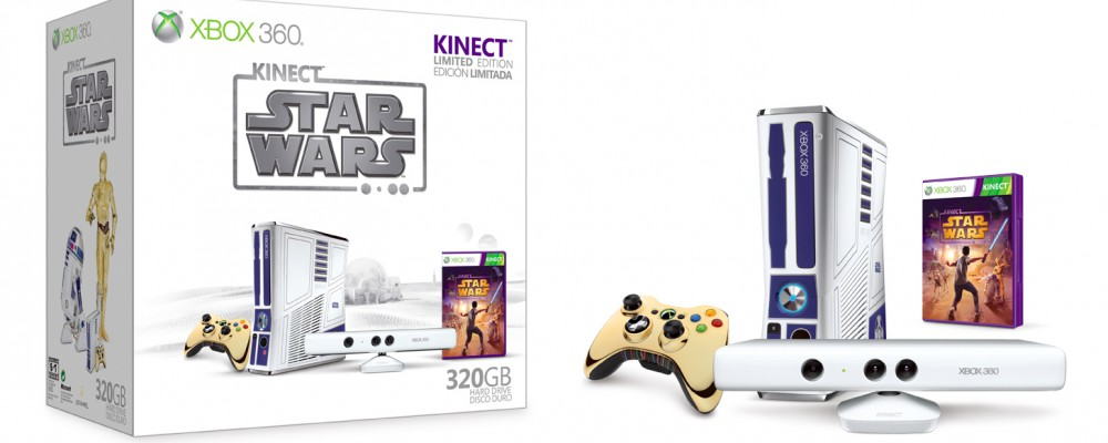 Kinect Star Wars: Release am 3. April 2012 und limitierte Star-Wars-Xbox