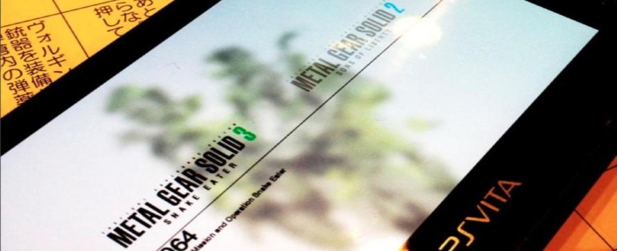 Die Metal Gear Solid HD Collection kommt am 12. Juni für die Vita