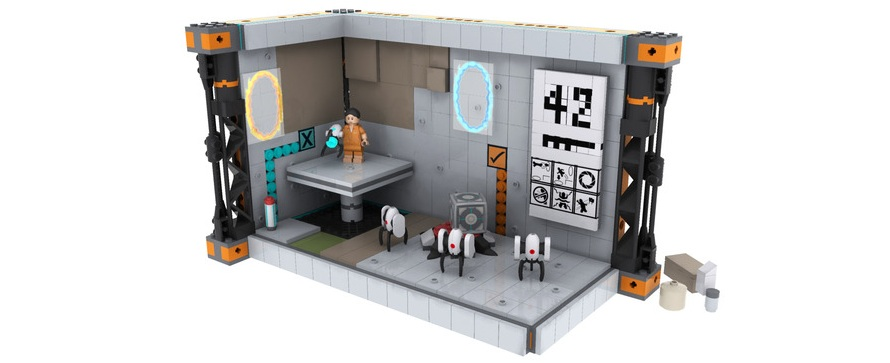 Kommt ein Portal 2 Lego Set?