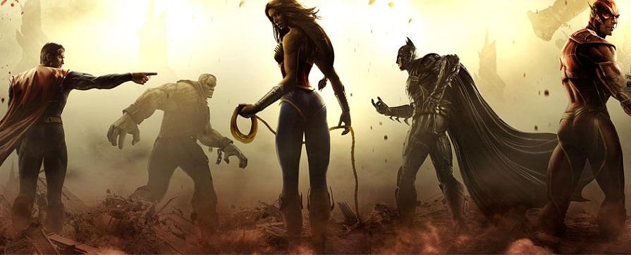 Injustice: Gods among us – Brandneues Gameplay-Material veröffentlicht