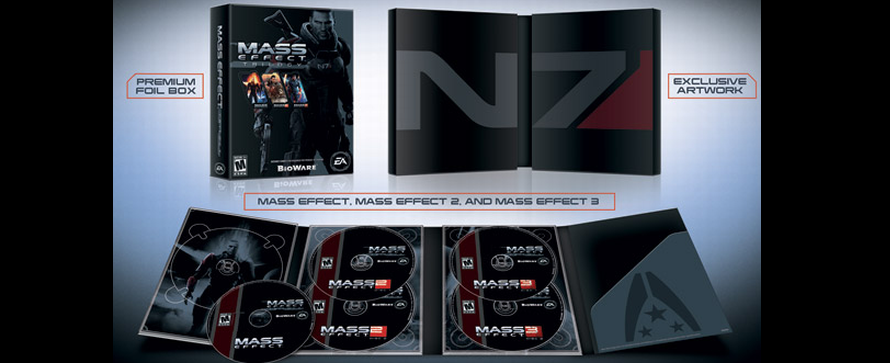 Mass Effect Trilogie Bundle angekündigt