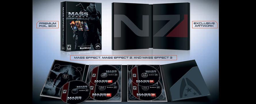Mass Effect Trilogie Bundle angekündigt