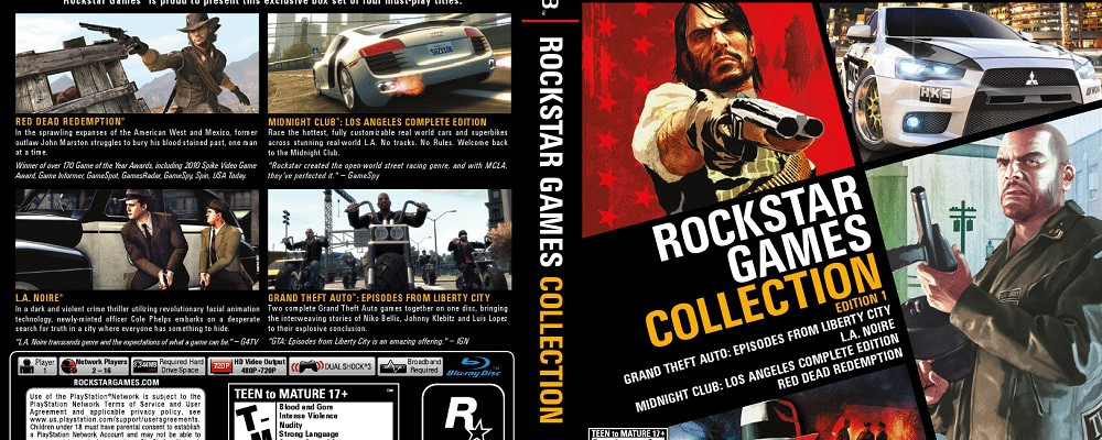 Rockstar Games Collection: Edition 1 angekündigt