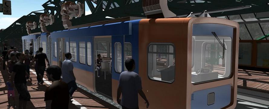 Schwebebahn Simulator 2013 erscheint bald