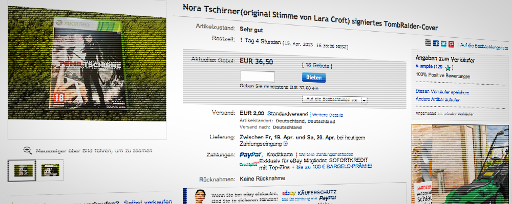 Unterstützt Nora Tschirner / Tomb Raider in Äthiopien