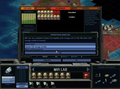 Alpha Centauri Screen 4