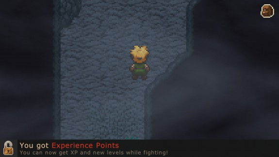 evoland's sucky experience points