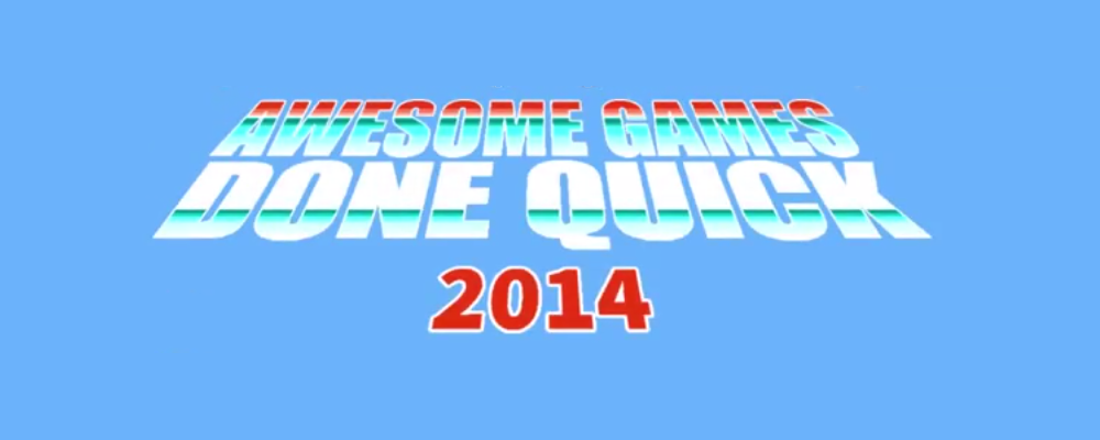 Awesome Games Done Quick is back!