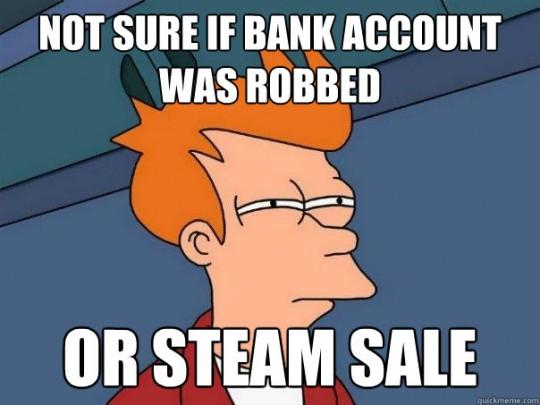 steam sale, probably