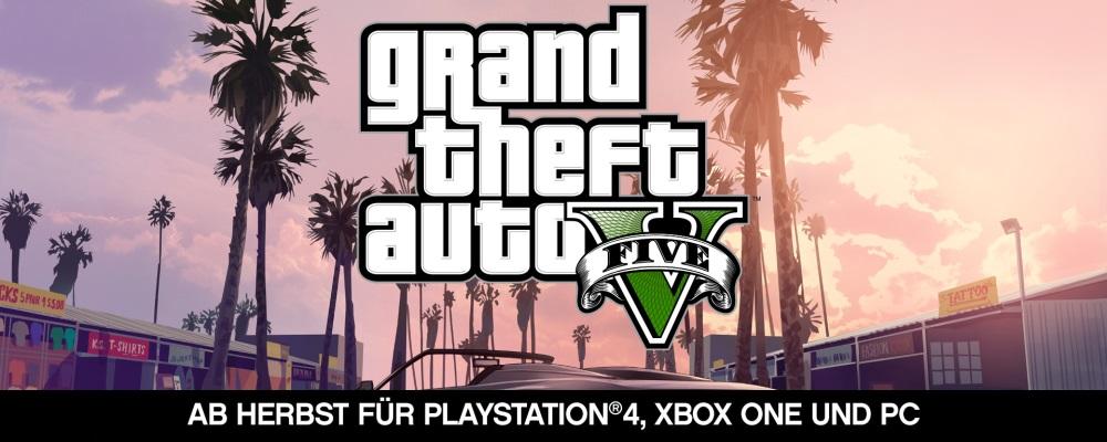 E3: GTA 5 erscheint im Herbst auf der PS4, Xbox One und dem PC!