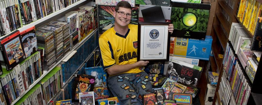 Die größte Videospiel-Sammlung der Welt kommt unter den Hammer