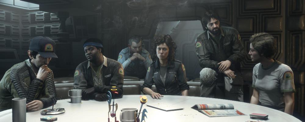 Alien: Isolation erhält die Crew der Nostromo