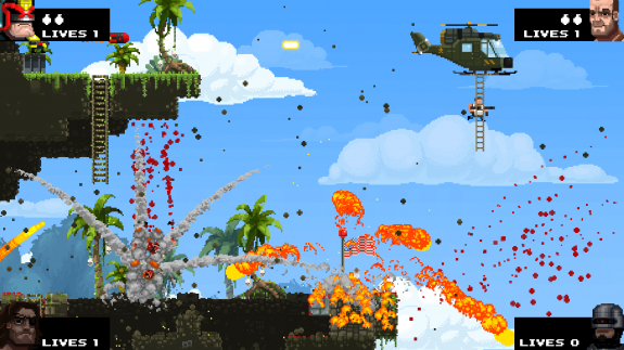Broforce gamescom 2014 CoOp