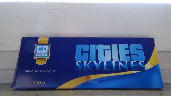 Paradox hat mir Schokolade geschenkt. Süß!