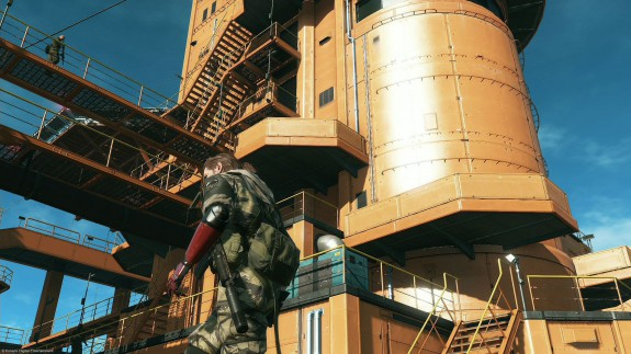 MGSV gamescom 2014 Mother Base