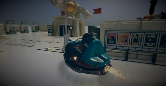 The Tomorrow Children gamescom 2014 Stadt