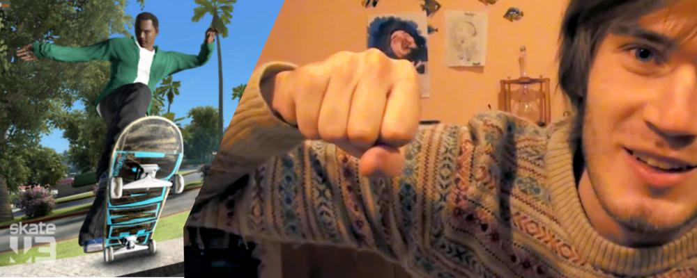 Skate 3: PewDiePie fördert Nachschub!