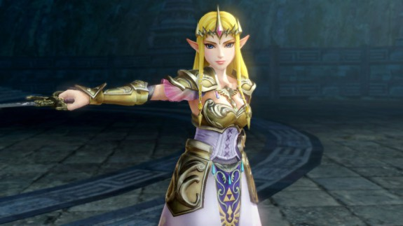 Hyrule Warriors Zelda