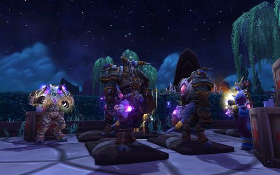 """Ein Screenshot aus der neuesten Erweiterung zu World of Warcraft """"Warlords of Draenor"""""""