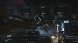 Alien Isolation Alien in front
