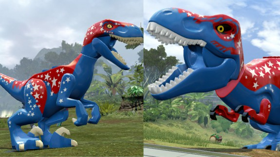freedom raptor and liberty rex