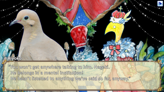 Hatoful Boyfriend HS - Screen 2