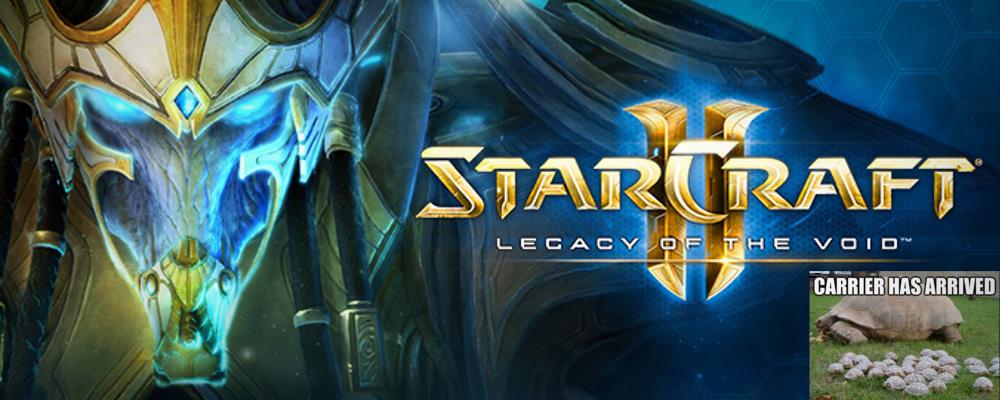 Suck it, Fallout: Am 10. 11. erscheint StarCraft II: Legacy of the Void