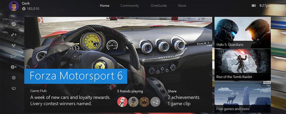 Die neue Xbox One Experience kommt am 12. November
