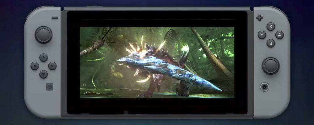 Monster Hunter XX für die Nintendo Switch angekündigt