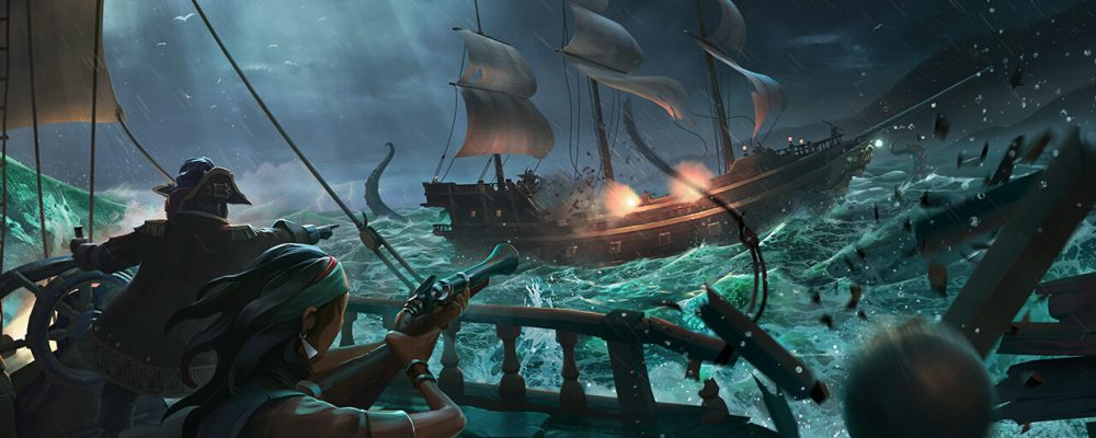 Sea of thieves: Cursed Sails Trailer + Datum