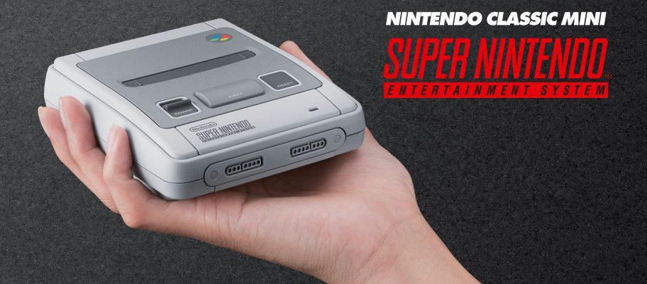 Super NES Classic Edition offiziell angekündigt